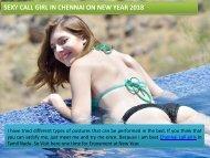 Hot Pleasure with Chennai Call Girl at New Year