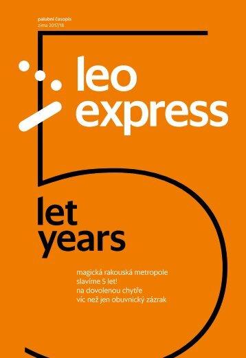 LEO Express zima 2017/2018