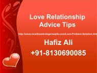 Love Relationship Advice Tips