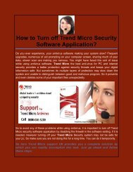 How to Turn off Trend Micro Security Software Application