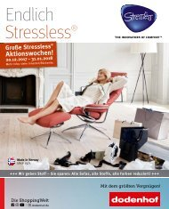 Ekornes_Stressless_Aktionswochen bei dodenhof