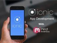 Ionic App Development With Mindinventory