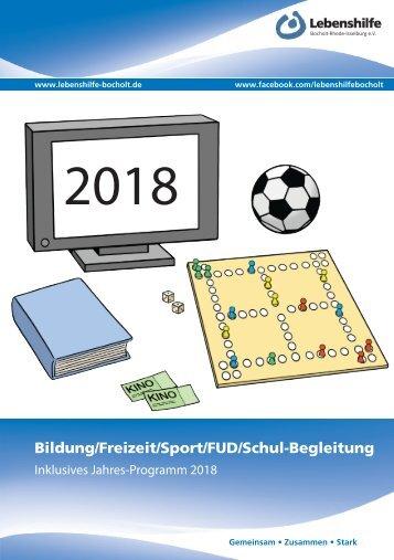 2017_12 Lebenshilfe Bocholt_Programm 2018_final
