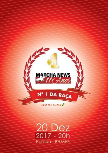 Catálogo 11 anos Marcha news 1