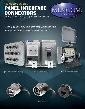 Panel Interface Connectors