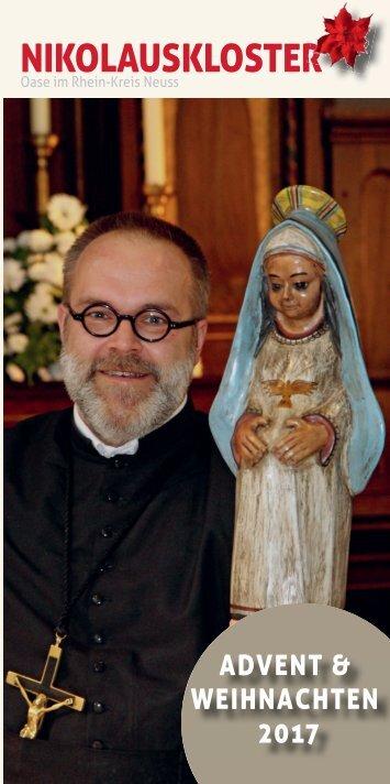 Weihnachtsbrief und Jahresrückblick des Nikolausklosters