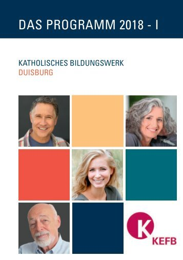 Duisburg KBW @KEFB Bistum Essen Programm 1/2018