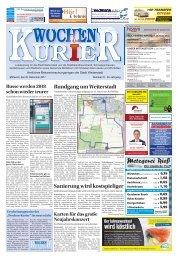 Wochen-Kurier 51/2017 - Lokalzeitung für Weiterstadt und Büttelborn