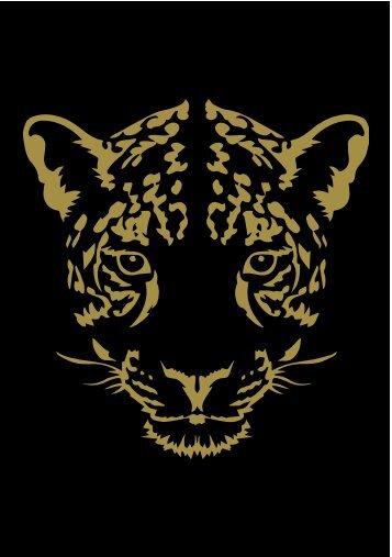 Leopard Print - Flip Book - Christmas card