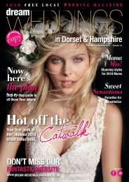 Dream Weddings Magazine - Dorset & Hampshire - issue.37