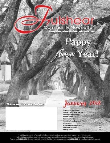 Fulshear January 2018