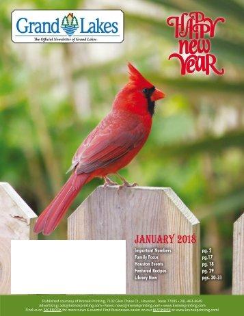 Grand Lakes January 2018