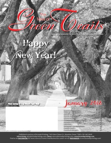 Green Trails Estates January 2018