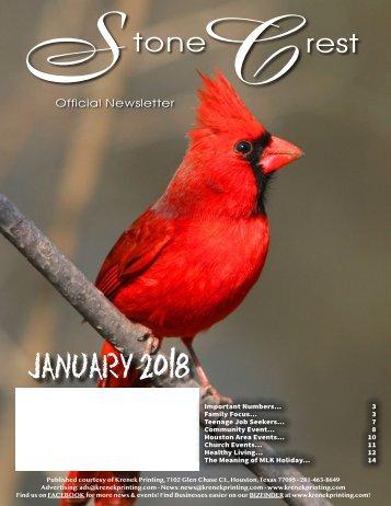 Stone Crest January 2018