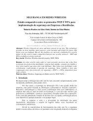 SEGURANGA EM REDES WIRELESS Estudo ... - sucesu-mt