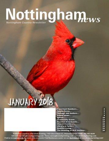 Nottingham January 2018