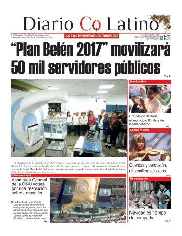 Edición 20 de diciembre de 2017