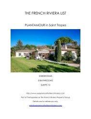 Plantamour - Saint Tropez