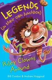 Riley Clowns Around