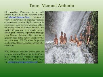 Tours Manuel Antonio