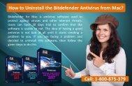 How to Uninstall the Bitdefender Antivirus from Mac?