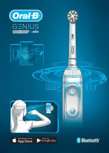 Braun D701.5xx.5, D701.5xx.6, D700.xxx.5 - Genius 8000 - 9000 Quick Start Guide Manual (UK, RU, UA, KZ, UZ, KG, MNG, AZ, GE, IL)