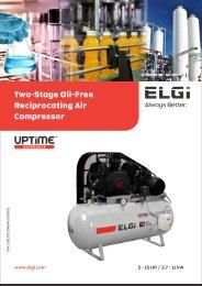 Oil Free Piston Compressors
