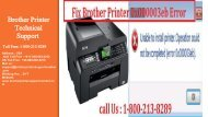 Fix Brother Printer 0x000003eb Error by dialing 1-800-213-8289