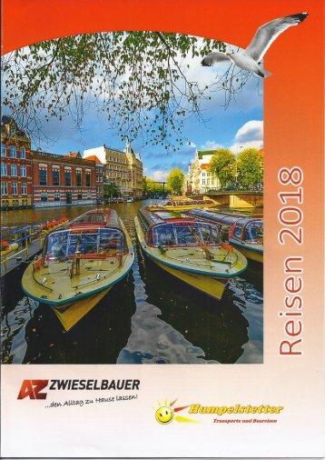 Reiseprogramm 2018