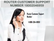 18442003971 Router Customer Support Number