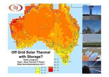 Residential Solar Based Seasonal Thermal Storage