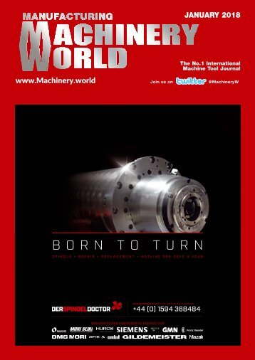 Manufacturing Machinery World January 2018
