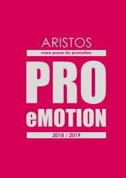ARISTOS 2018 / 2019 - PRO eMOTION CHF