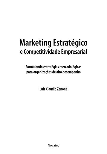 capítulo 1 Marketing estratégico e competitividade ... - Novatec