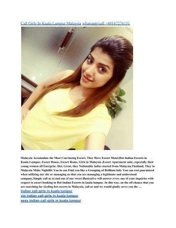 Sexy Call Girls In Kuala Lumpur Malaysia Whatsappcall 60167274151