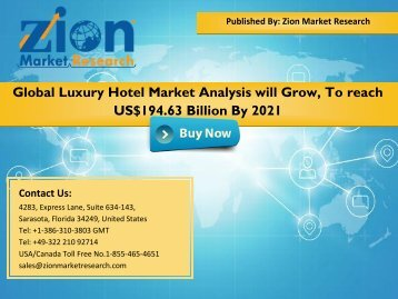 Luxury Hotel Market