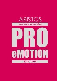 ARISTOS 2018 / 2019 - PRO eMOTION EUR