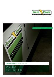 Green Power Catalogo Generale PRELIMINARY