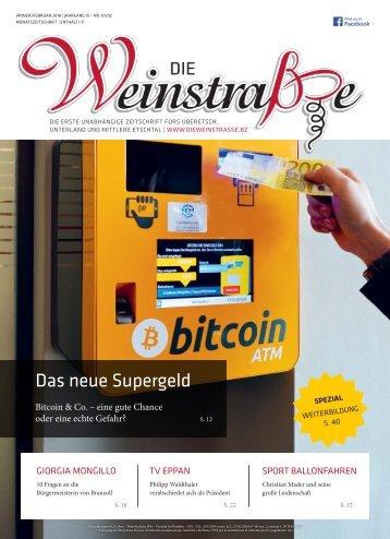 Die Weinstraße - Jänner/Februar 2018