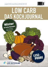Low Carb das Kochjournal_Winter_Leseprobe