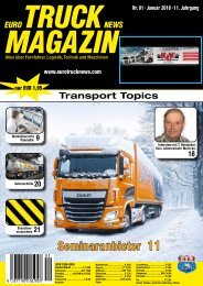 Euro Truck News Digital Nr. 01/2018
