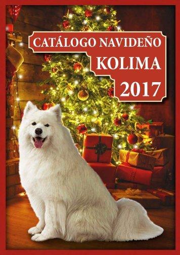 Catálogo navideño Kolima 2017