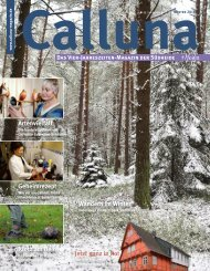 Calluna Winter 2018
