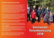 Stemweder Ferienbetreuung 2018