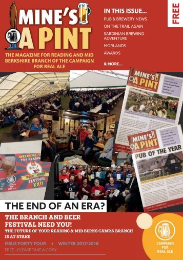 Mine's a Pint Issue 44