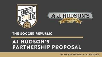 Soccer Republic Partnership Proposal