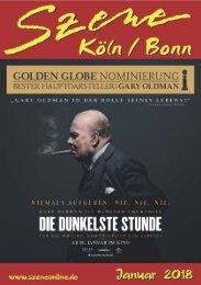Szene Köln-Bonn, Ausgabe 01.2018