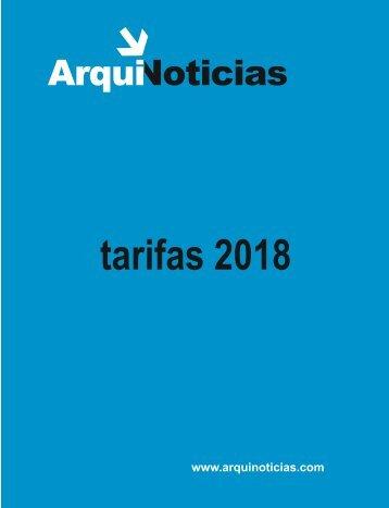 tarifario 2018