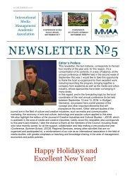 IMMAA Newsletter Issue #5