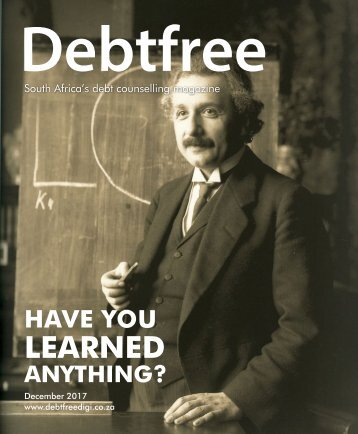 Debtfree Magazine December 2017
